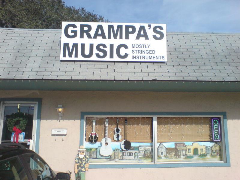 Grampa's music